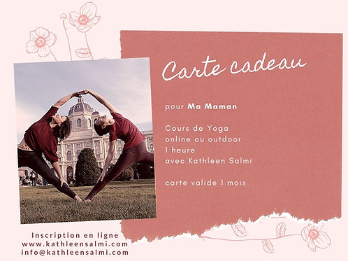 Yoga Gift Card