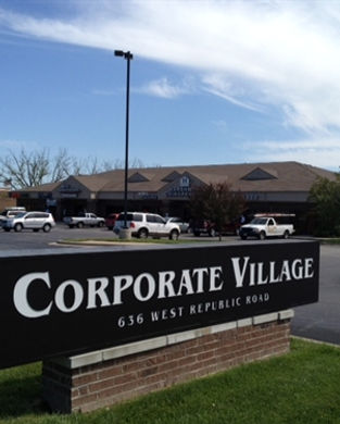 Front view of Corporate Village Commercial Property