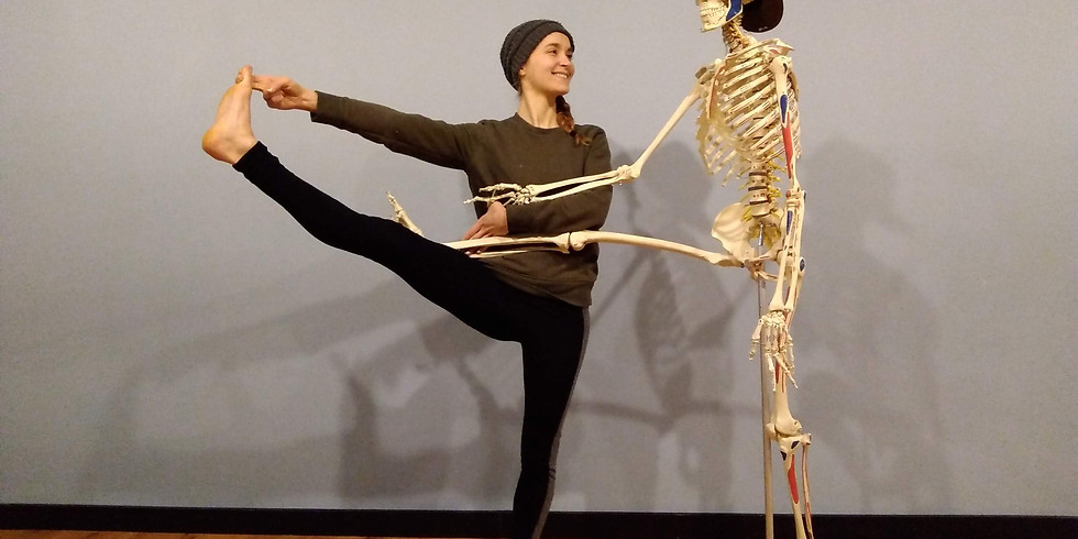 Yoga Anatomy in Practice: an asana class with integrated anatomy exploration