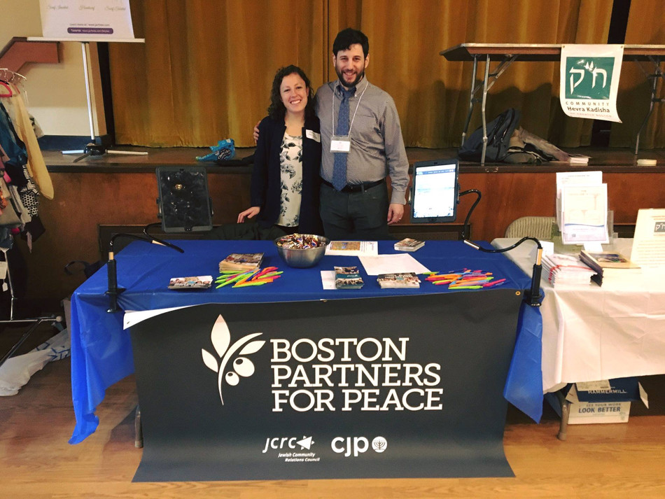 Boston Partners for Peace Engages Israelis, Palestinians and the Boston Jewish Community