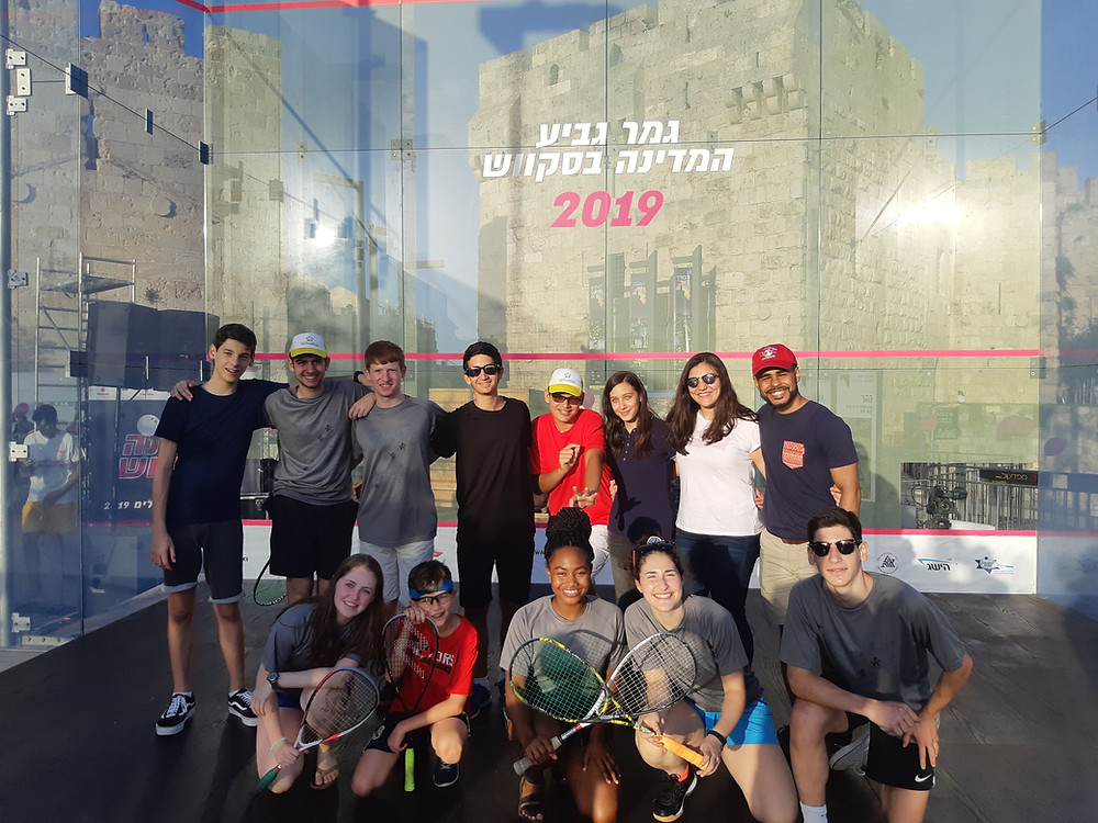 "Squashbond's ""IsraelConnect"" participants"