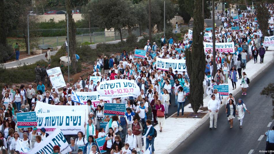 Women's Voices to Accomplish Israeli-Palestinian Peace