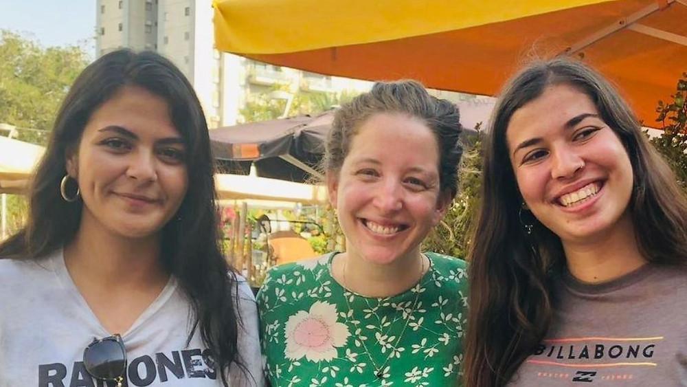 Tala Jbara, Noga Shachar, and Noa Yammer