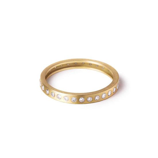 Anel Elisa com Diamante