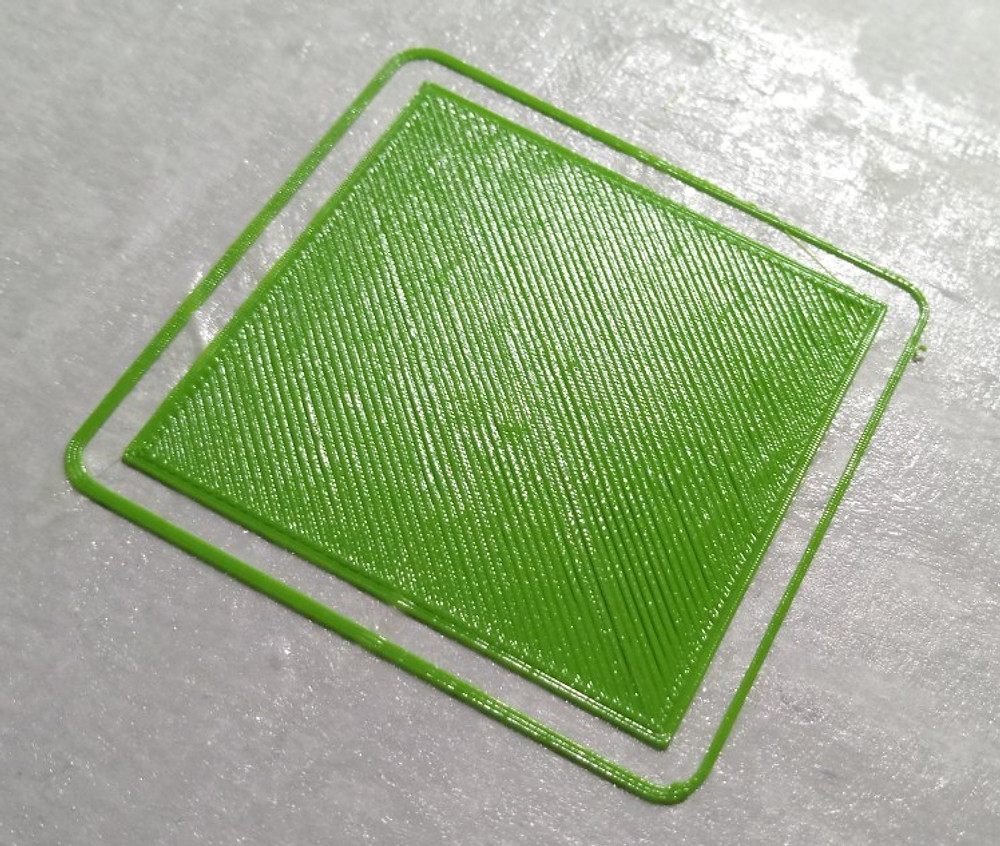0.2 first layer without bed-levelling