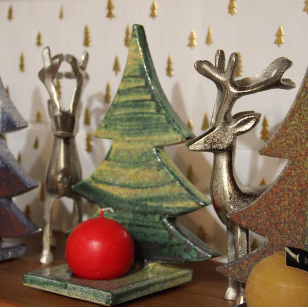 Bäume aus Keramik