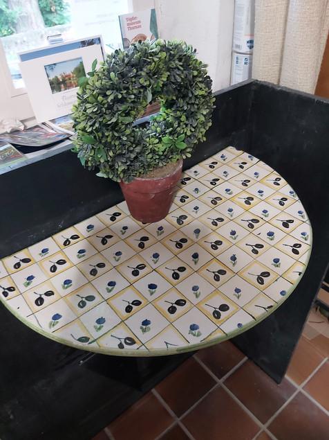 halber Tisch