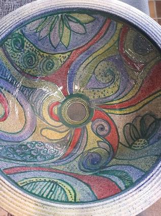 Waschbecken aus Keramik handgemacht