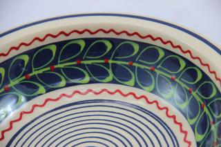 Muster neue Farben gruene Blaetter auf b