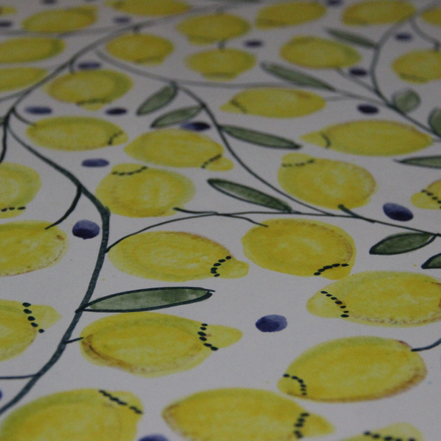Zitronenplatte