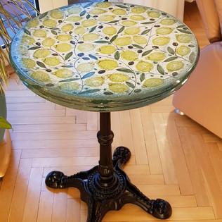 Tisch Zitrone