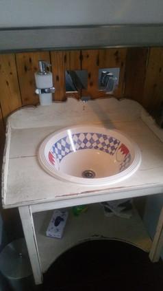 Handgemachtes Waschbecken Kunst