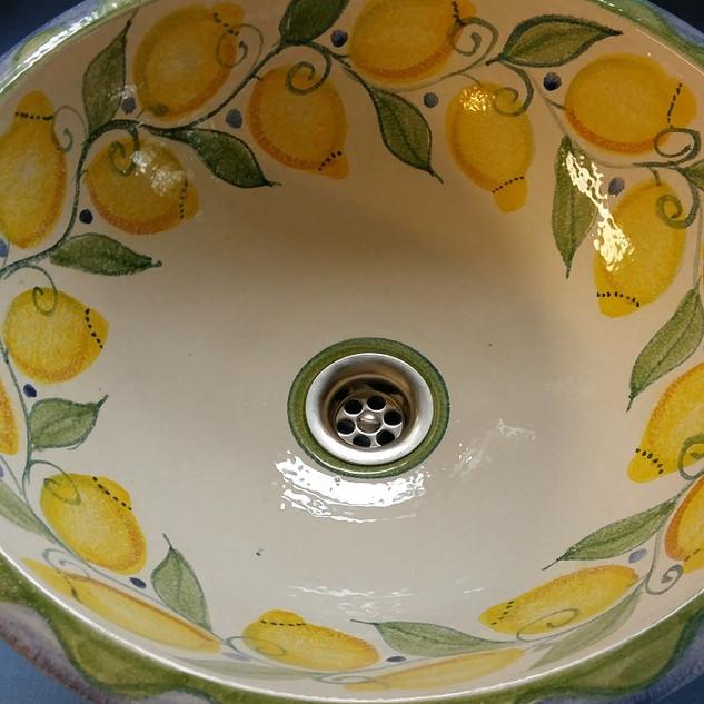 Waschbecken Zitron