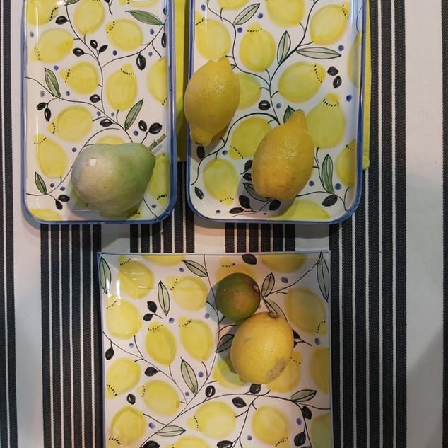 Platten Zitronen