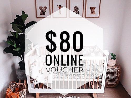 $80 Online Gift Voucher
