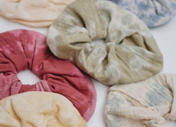 Tie Dye Scrunchies