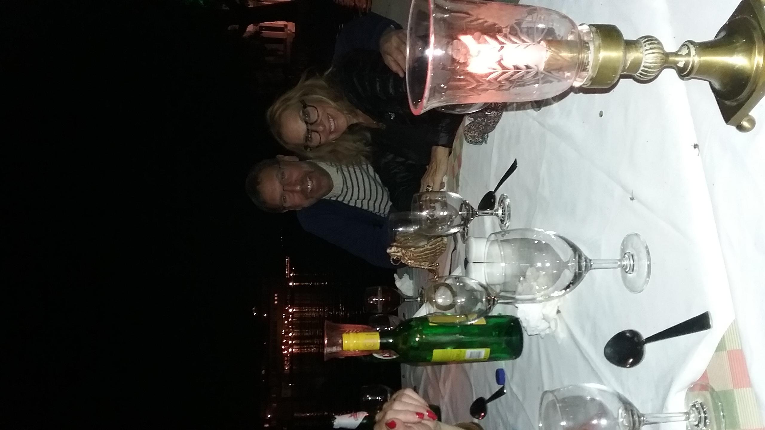 Dinner on Lake Pichola