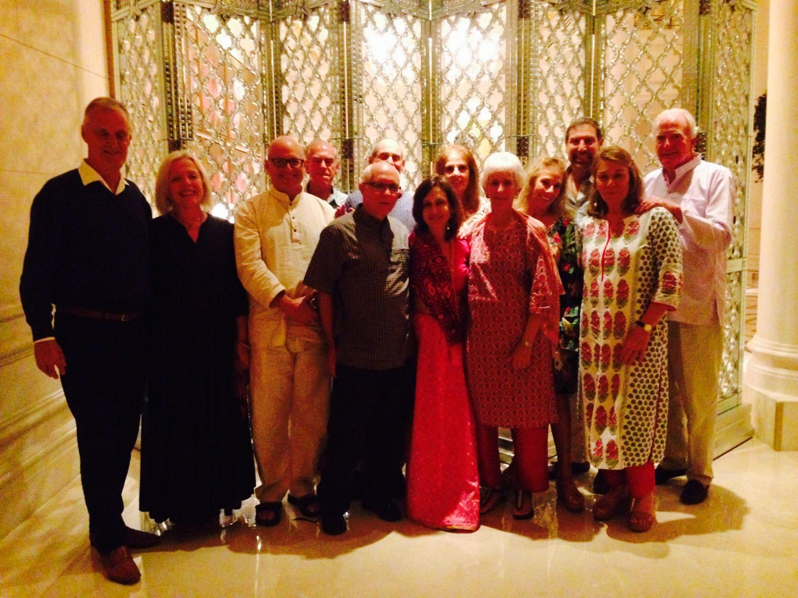 Group at Leela Palace