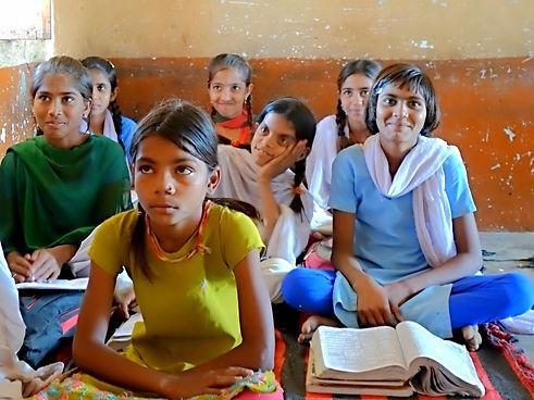 Rural Indian Children in Class