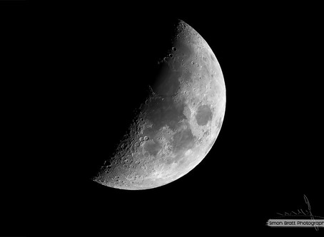 Photographing the Moon...
