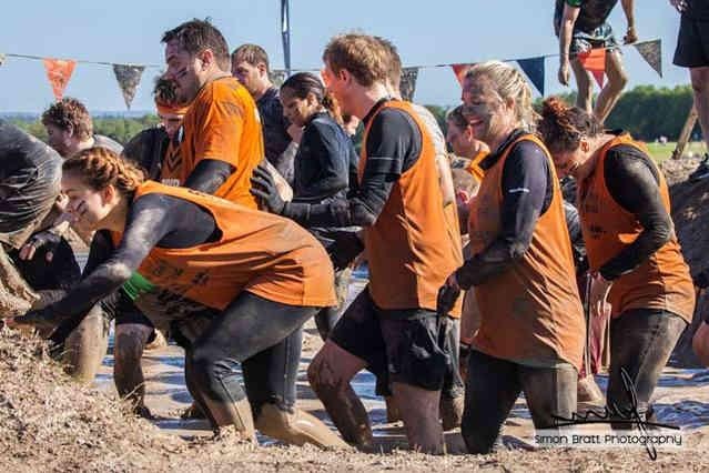Tough Mudder 2015 mud mile
