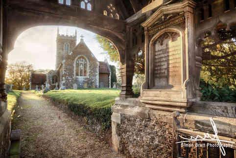 Church through the gate