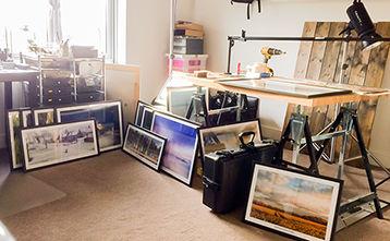 Photographic studio of Simon Bratt