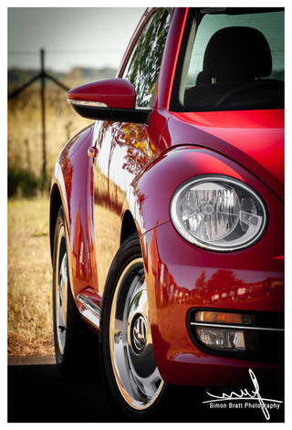 New VW Volkswagon Beetle A5 Red 04