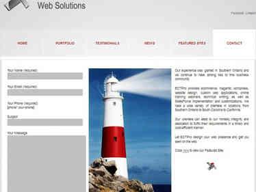 ECT Professional website