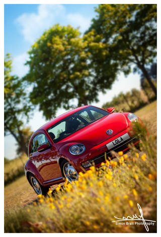 New VW Volkswagon Beetle A5 Red 07