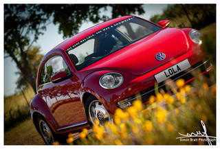 New VW Volkswagon Beetle A5 Red 05