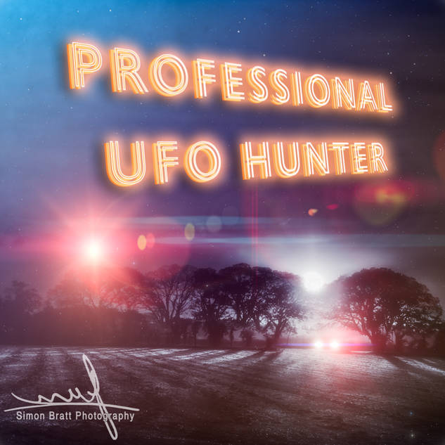 Professional UFO Hunters Slogan