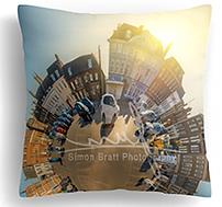 Kings Lynn mini planet viewpoint pillow
