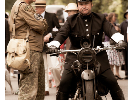 Great trip to Woodhall Spa 1940's Festival