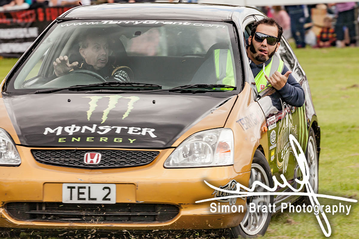 Terry Grant & Jesse Mcclure at Truckfest