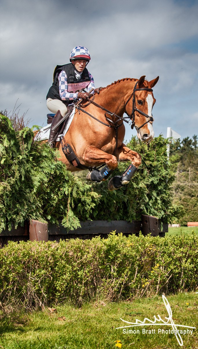 Horse jumping event
