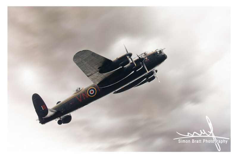 Lancaster bomber fly past in 2019
