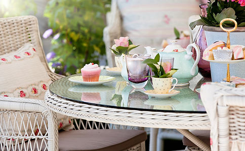 Afternoon tea in the garden smaller.jpg