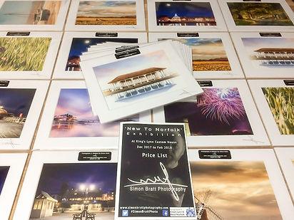 Mini exhibition prints