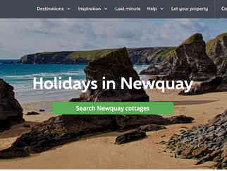 Holiday Cottages website