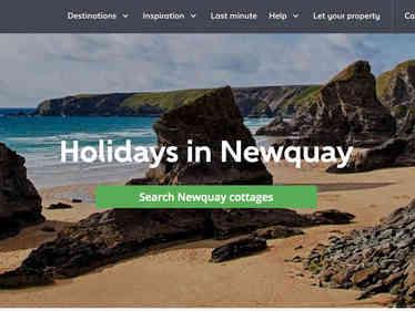 Holiday Cottages website