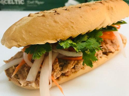 Salmon Sub (Banh Mi)