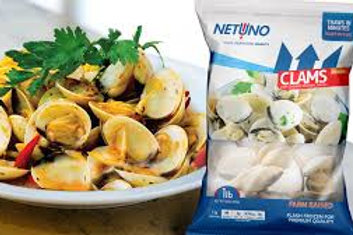1LBS Frozen Clams (INSTANT ORDER)