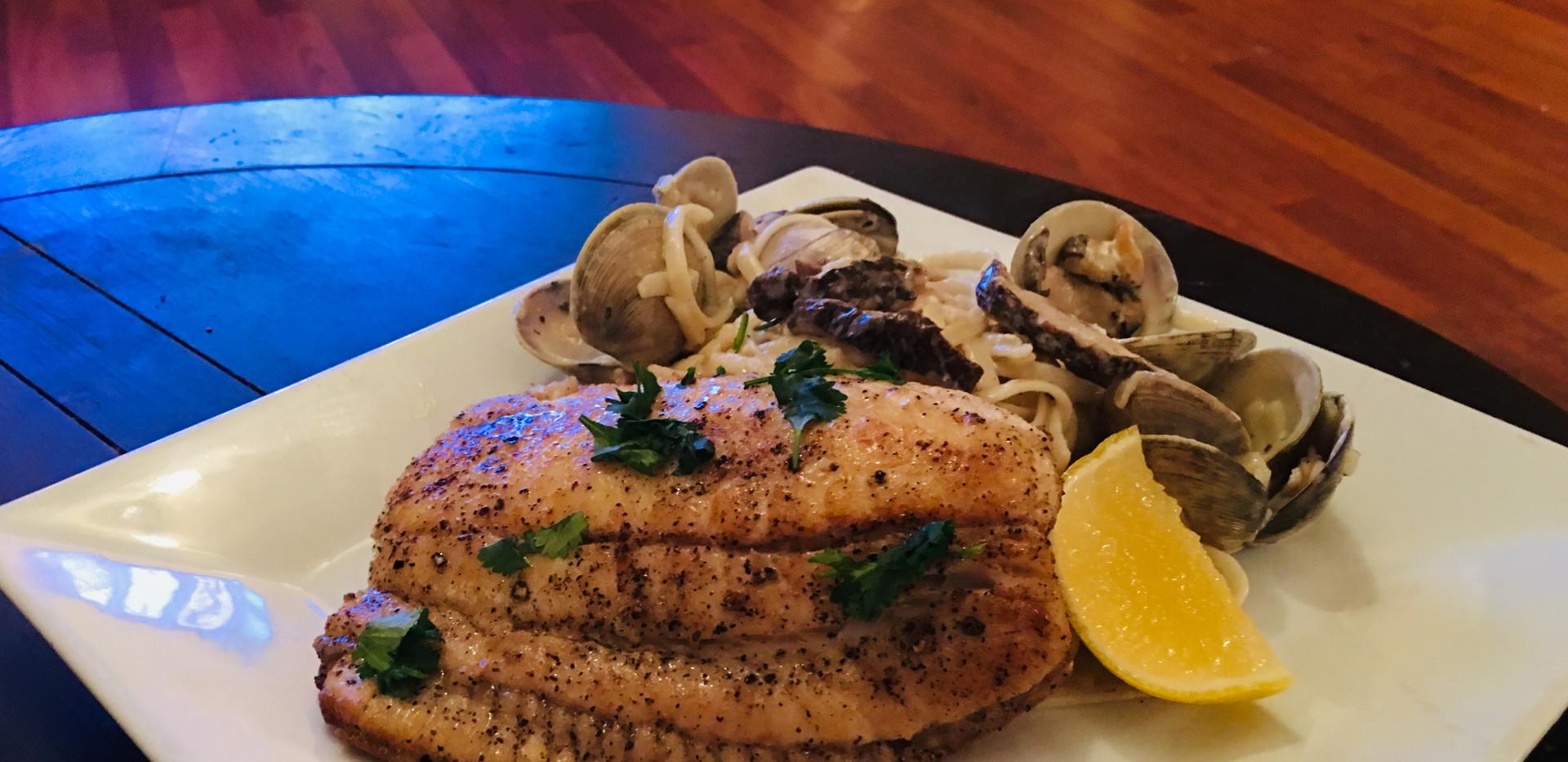 Baked or Grilled Flounder