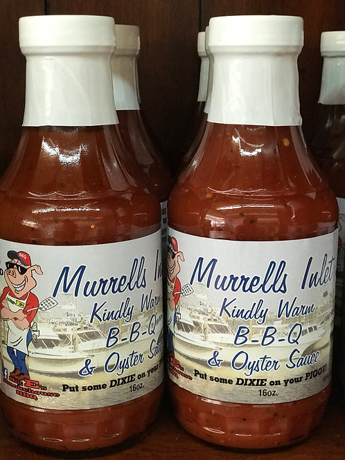 Murrells Inlet BBQ & Oyster Sauce (INSTANT ORDER)