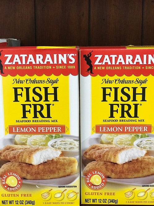 Zatarain's Fish Fri Lemon Pepper (INSTANT ORDER)