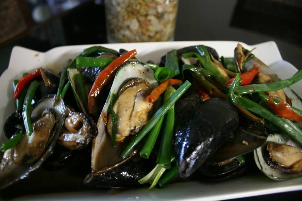 Stir Fry Green Lip Mussels