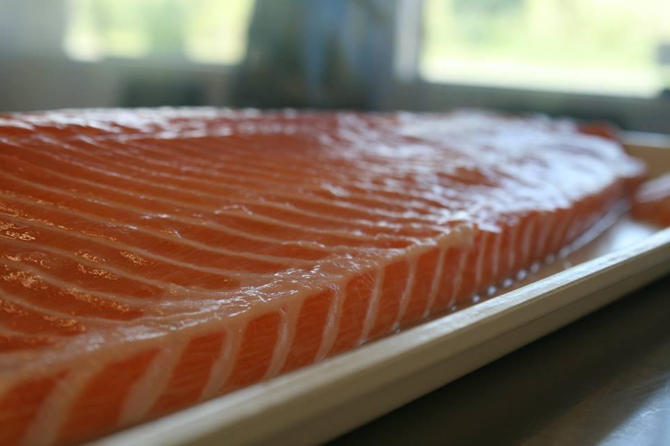 Whole Side of Smoked Salmon
