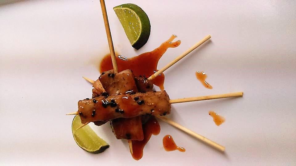 Grilled Fish Skewer Sticks