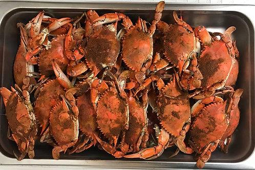 CLICK ON PHOTO -  #3 Female Crabs Steamed 1 Dozen